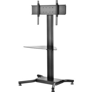 PEERLESS - SCREEN MOUNTS - FLAT PANEL STAND W/ TINTED GL CBNT 39IN - 75IN FLAT PANEL SCREENS