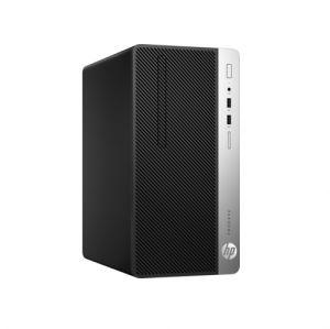 HP - HP 400 G4 PD MT - INTEL CORE I7-7700, 3.6GHZ (4.2 GHZ, QC), 8GB DDR4 2400 MHZ, 1TB 7.2K SATA, SLIM DVD-RW, GIGABIT ETHERNET, INTEL HD 630, KB/MSE,  WINDOWS 10 PRO 64 BITS, 1 YEAR ON-SITE NBD - PRETO