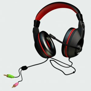 MARS GAMING - AUSCUTADORES HEADSET 40MM NEODYMIUN ULTRA-BASS - MAH0
