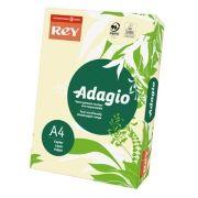 ADAGIO - Papel Fotocopia Adagio(cd93) A4 80gr Marfim / Creme (Yvory) 1x500Fls