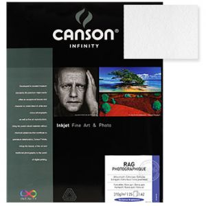 CANSON - Papel Canson Infinity Rag Photograph A4 100% 310gr 25Fls
