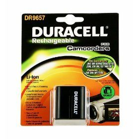 DURACELL - CAMCORDER BATTERY 7.4V 1540MAH - DR9657