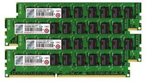 TRANSCEND - 16GB ECC DIMM KIT FOR APPLE 4GBX4 - TS16GJMA545H