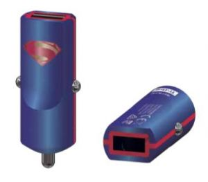 TRIBE - BUDDY CAR CHARGER 2.4A DC COMICS (SUPERMAN)