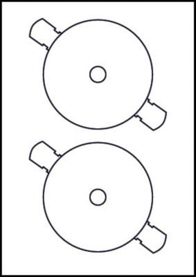 AVERY - CDS/DVDS L7676 (LASER MONOCROM.)
