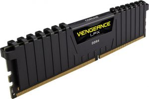 CORSAIR - DDR4 3000MHz 16GB 1 x 288 Vengeance LPX Black Heat spreader 1.35v
