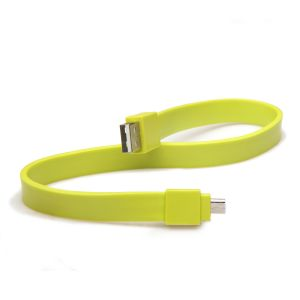 TYLT - TYLT SYNCABLE - GEN II Micro USB Green - MIC-DATA1MG-T
