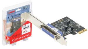 LONGSHINE - PLaca PCI-E 1 porta paralela
