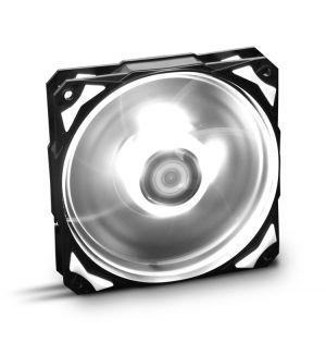 NOX - VENTOINHA Caixa HUMMER HFAN LED BRANCO. 12CM (NXHUMMERF120LW)