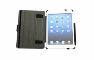 JIVO - Bundle for iPad Mini - includes Folio + Stylus Pen - BK - JI-1516