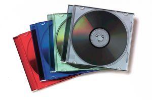 FELLOWES - 25 CAIXAS CDS SLIM SURTIDOS SUPL .