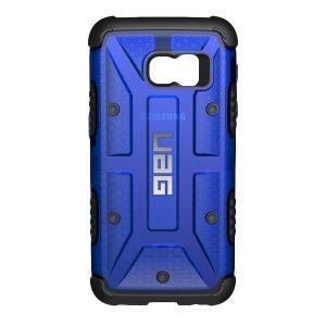 UAG - Samsung Galaxy S7 Composite Case-Cobalt/Black - GLXS7-CBT
