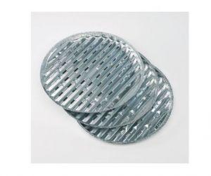 LANDMANN - Pack de 3 Grelhas de Alumínio 34cm