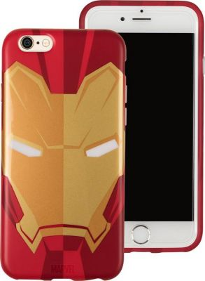 TRIBE - HOOD COVER MARVEL IPHONE 7 E 6/6S (IRON MAN)