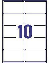 AVERY - L7173-100 (ETIQUETAS 10/FOLHA) - 9451