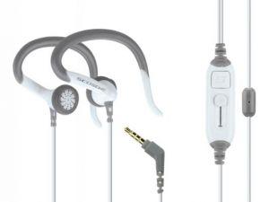 SCOSCHE - Sportclips Sport Clip Earphones With Slideline White - HPSC63M