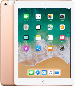 APPLE - iPad Wi-Fi + Cellular 128GB - Gold (novo)