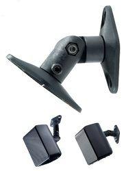 PEERLESS - PARAMOUNT Universal Speaker Mount PSP2 - Kit de montagem (montagem na parede / teto) para altifalante (s) - preto (pacote de 2)