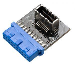 AKASA - Adaptador USB 3.1 to 20-Pin
