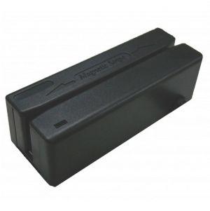 POS - Leitor Cartões Magnéticos Preto 90mm Pistas 1 / 2 / 3 USB