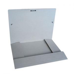CARTONEX - Pasta Cartolina 350gr 310x230 Abas / Elast Cinza (min. 5 un.)