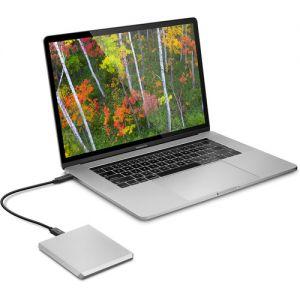 LACIE - MOBILE DRIVE 2TB USB 3.1-C MOON SILVER