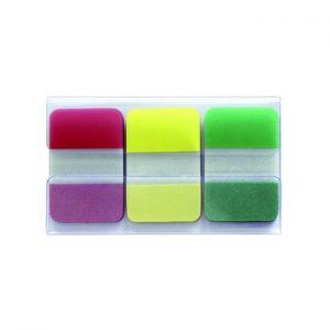 INFONOTES - Post-it Index Rigida Vermelho: Amarelo e Verde 1 un. (25xVermelho: 25x Amarelo: 25x Verde)