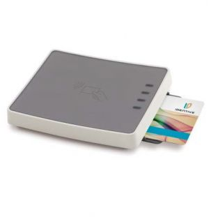 IDENTIVE - Dual Interface Desktop Reader (SMART CARD NFC e RFID) - USB