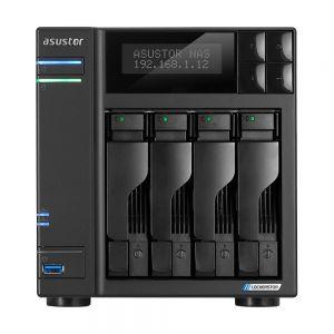 ASUSTOR - NAS AS6604T 4 Bay J4125 2.0GHz QC 4GB DDR4 2xM.2PCIe + 4xSATA3: 2x2.5 GbE 3Yr Wrt