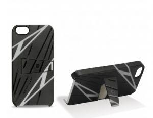 SCOSCHE - Kickback SPORT Designs - SPORT Designs - Cover w/Kickstand f/iPhone 5 BK