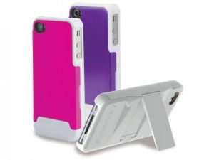SCOSCHE - Kickback G4 Polycarbonate Case f/iPhone 4 - IP4K2LV