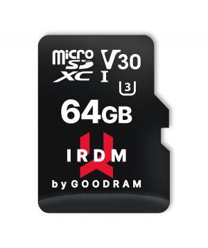 GOODRAM - IRDM UHS-I U3 Micro SD 64GB c/adaptador