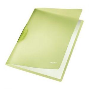 LEITZ - Classificador Clip Lateral Leitz 4176 Verde - 1un