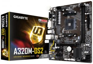 GIGABYTE - GA-A320M-DS2 AMD A320 SOCKET AM4 MICRO ATX BASE