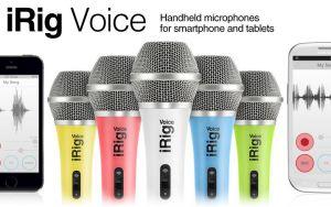 IK MULTIMEDIA - Microfone iRig Voice (pink)