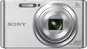 SONY - KIT W830 PRATA (20.1 MP / ZOOM 8X ) + BOLSA + SD 8GB