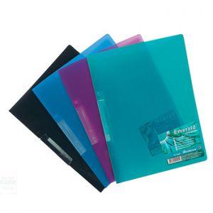 ERICHKRAUSE - Dossier Plastico com 4 Separadores Transparentes - Pack 10un