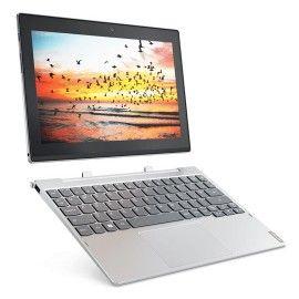 LENOVO - MIIX 320-10ICR-665 10,1P IPS HD (1366x768)/Intel® Atom x5-Z8350 1,44GHz/1,92GHz Quad-Core/4GB/128GB/W10H/Platinum Silver Includes Keyboard