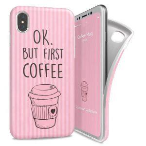 I-PAINT - SOFT CASE IPHONE X (COFFEE MUG)