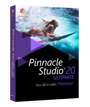 COREL - Pinnacle Studio Ultimate (versão 20 ) pacote de caixa 1 utilizador Win Multi-Lingual Europa