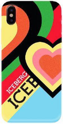 ICEBERG - SOFT CASE IPHONE X (HEART)