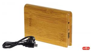 HITEC - Caixa externa em madeira 2.5Pol USB–IDE