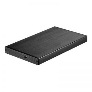 TOOQ - Caixa EXTERNA TQE-2507B 25P 95 MM SATA USB 2.0 NEGRA