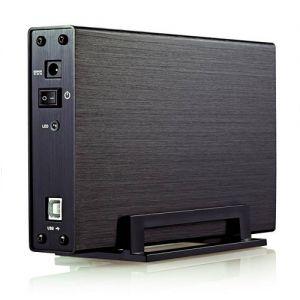 UNIKA - Caixa externa HDD 3.5P UK-839U2 IDE + SATA USB 2.0