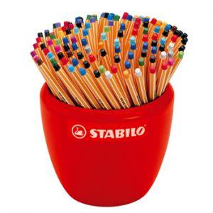 STABILO - Marcador Fino 0:4mm Stabilo Fineliner Point 88 Expositor com 150 unidades (Sortido em 20 cores)