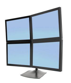ERGOTRON - DS100 Quad-Monitor Desk Stand