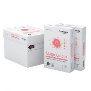 STEINBEIS - Papel Fotocopia Steinbeis A4 80gr Reciclado Salmao 1x500Fls