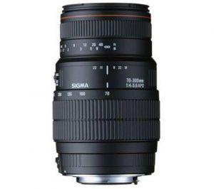SIGMA - Objectiva 70-300mm f4-5.6 APO DG MACRO-CANON
