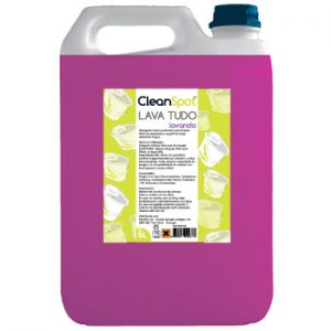 CLEANSPOT - Detergente Lava Tudo Lavanda (5 Litros)