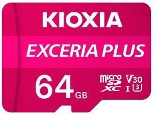 KIOXIA - MICRO SD 32GB EXCERIA PLUS UHS-I C10 R98 COM ADAPTADOR